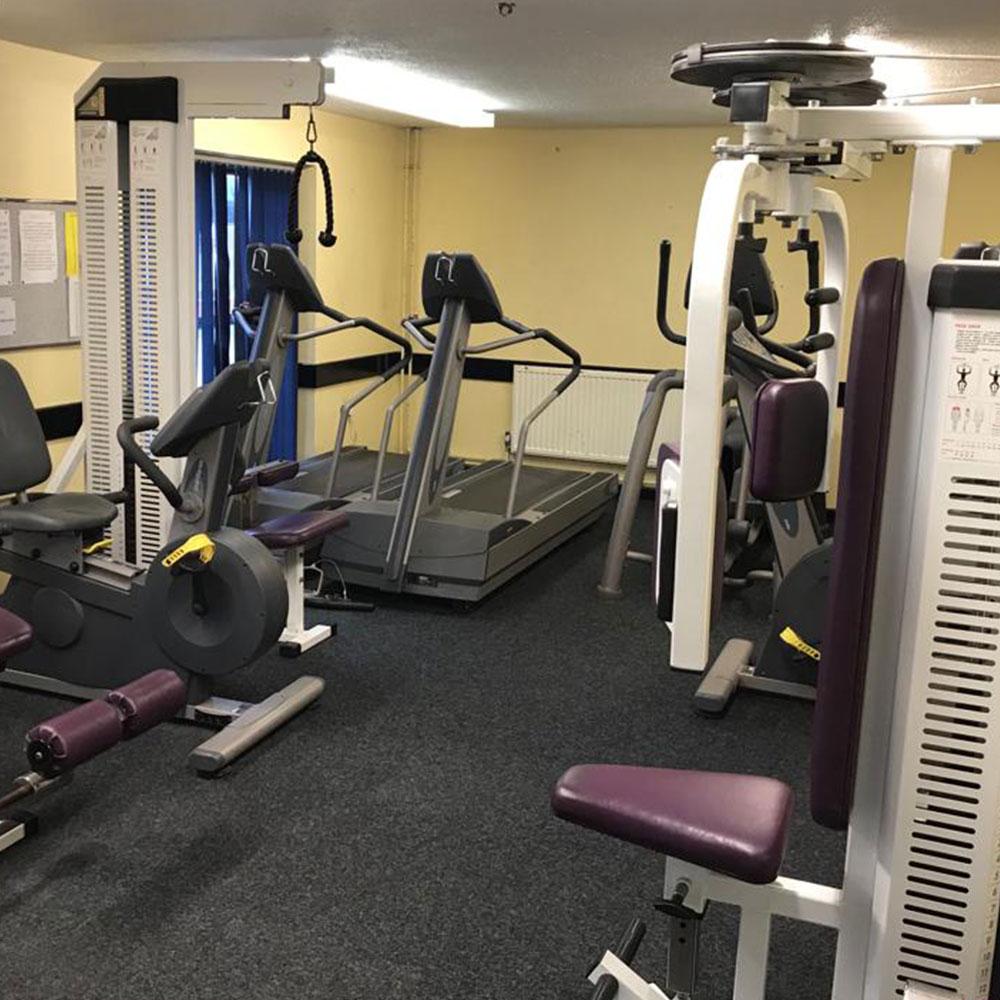 Weight training fitness gym Tregaron