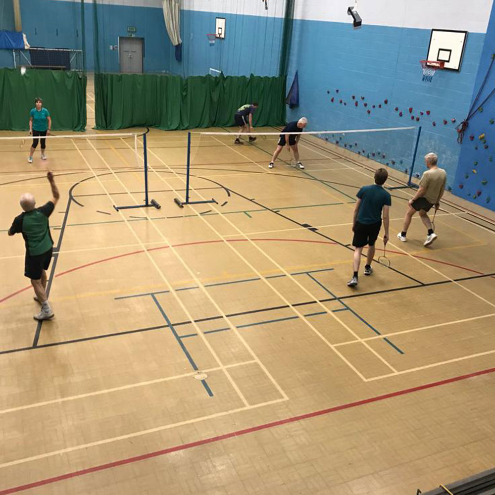 Badminton Aberystwyth Tregaron Sports Leisure