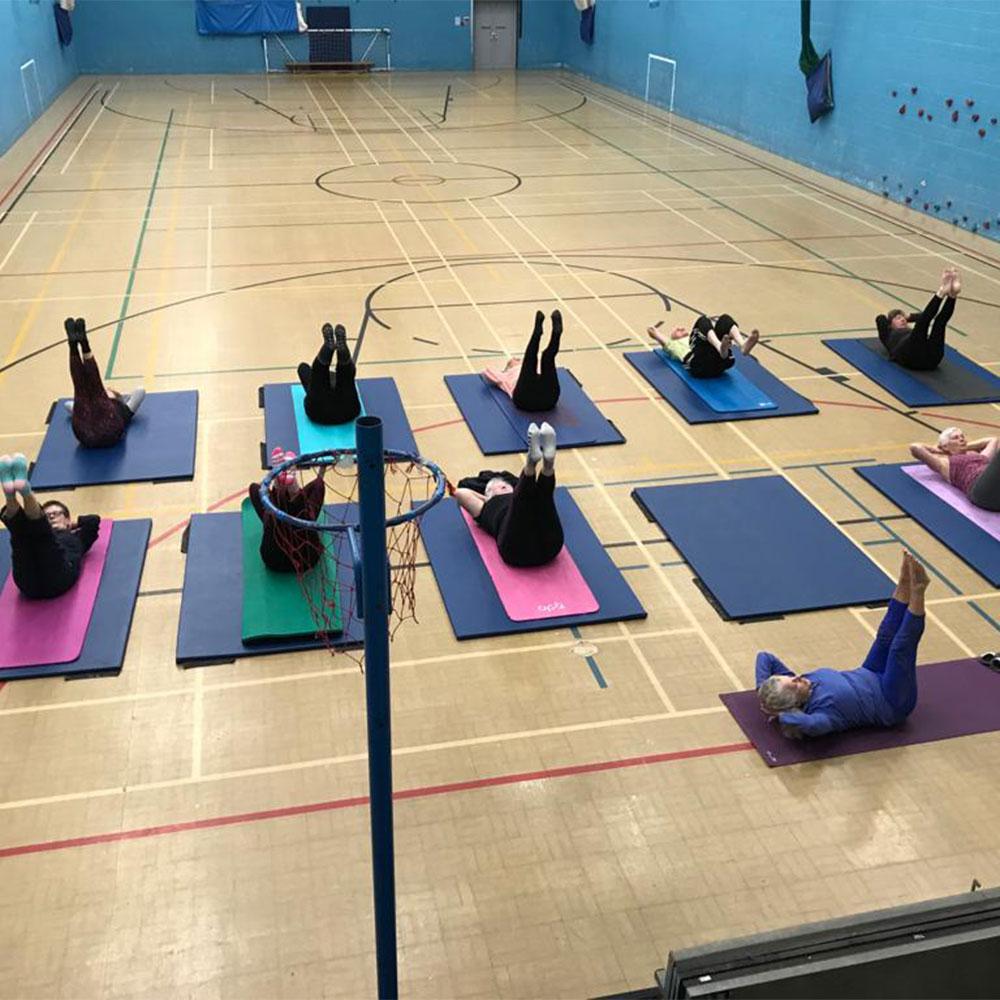 Pilates club and classes Tregaron Wales